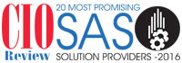 20 Most Promising SAS Solution Providers - 2016